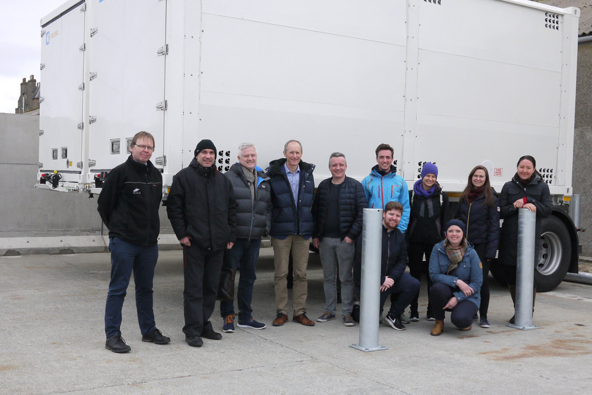 Norway impressed by Orkney hydrogen